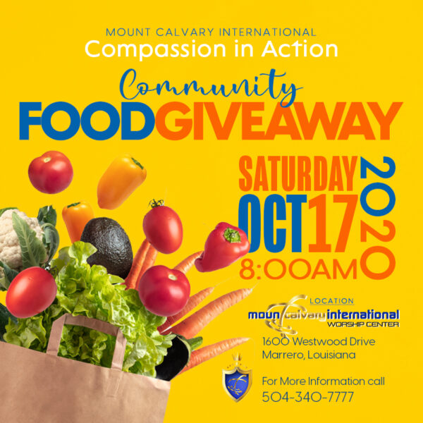 MC Food Giveaway