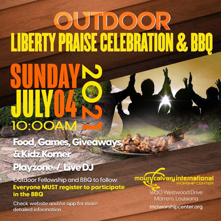 Liberty Praise & BBQ Promo - web